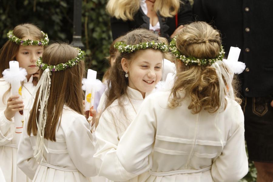 Erstkommunion Mädchen