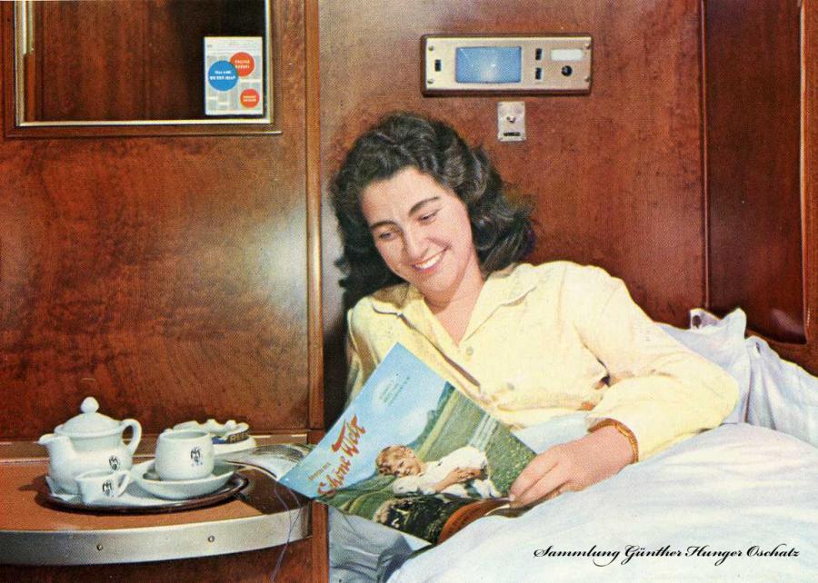 Es reist sich gut im Schlafwagen