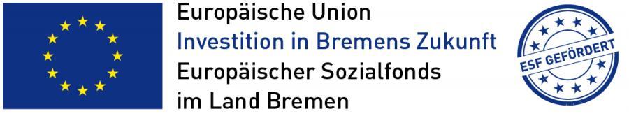 europäischer Sozialfonds für Bremen Stempel