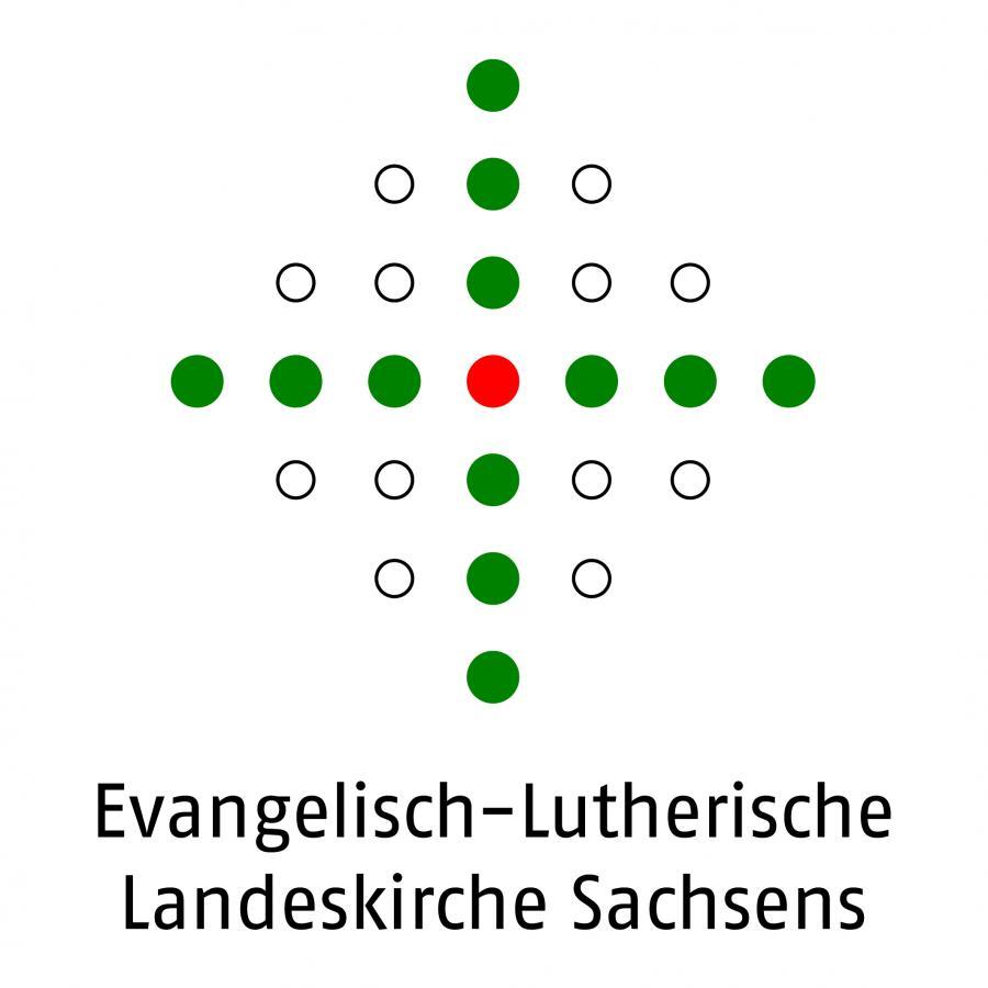 Logo der Landeskirche Sachsens