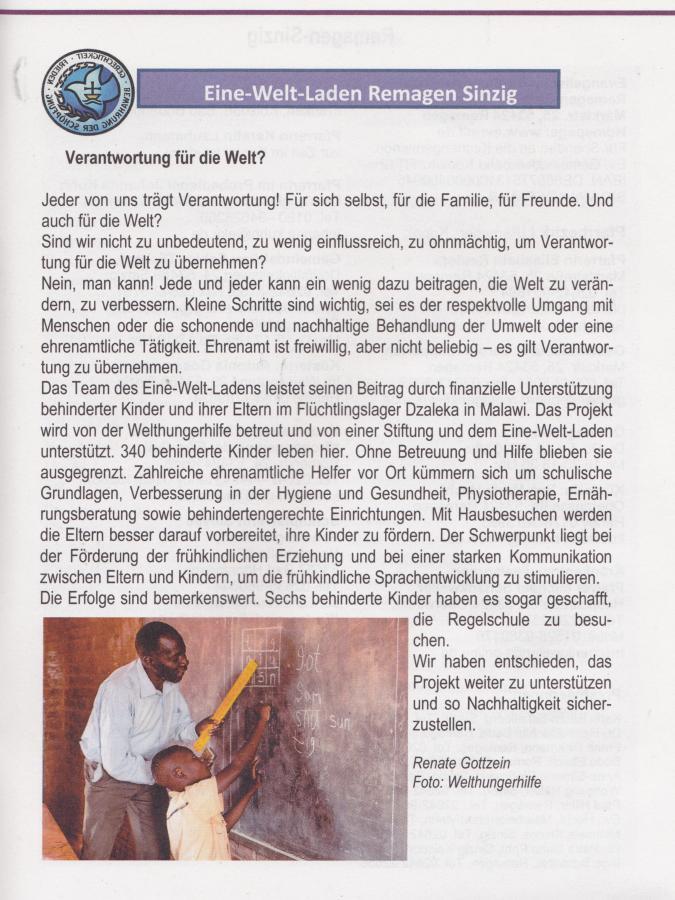 Gemeindebrief I/2019
