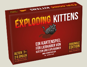 Exploding Kittens deutsch