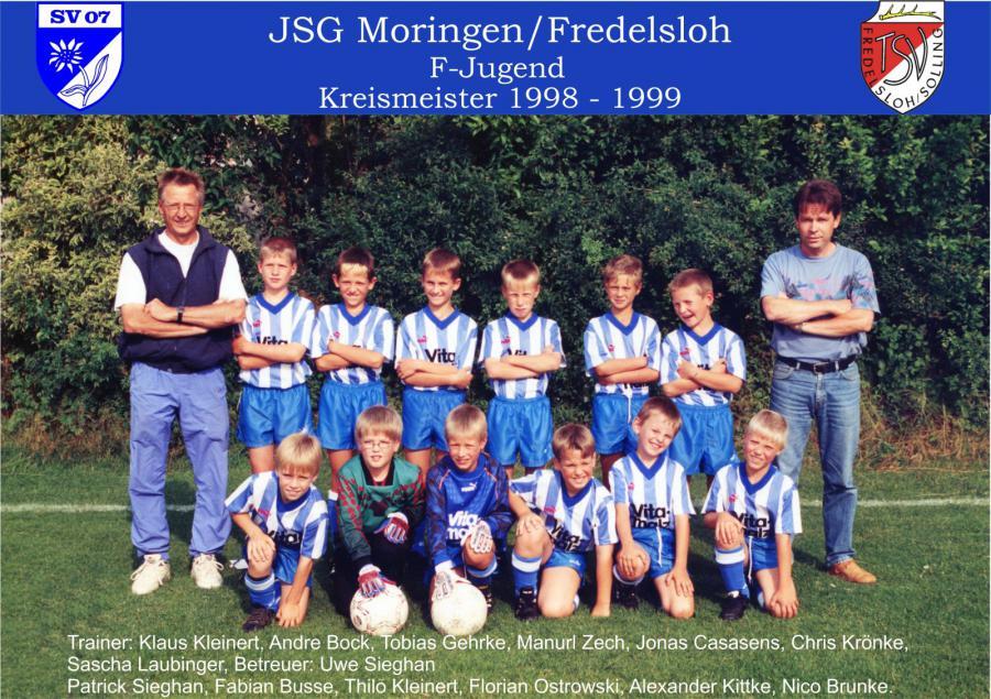 F-Jugend 1998 - 1999