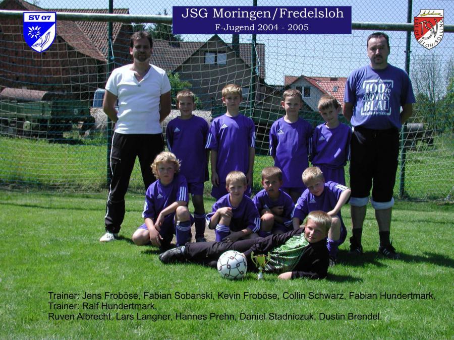 F-Jugend 2004 - 2005