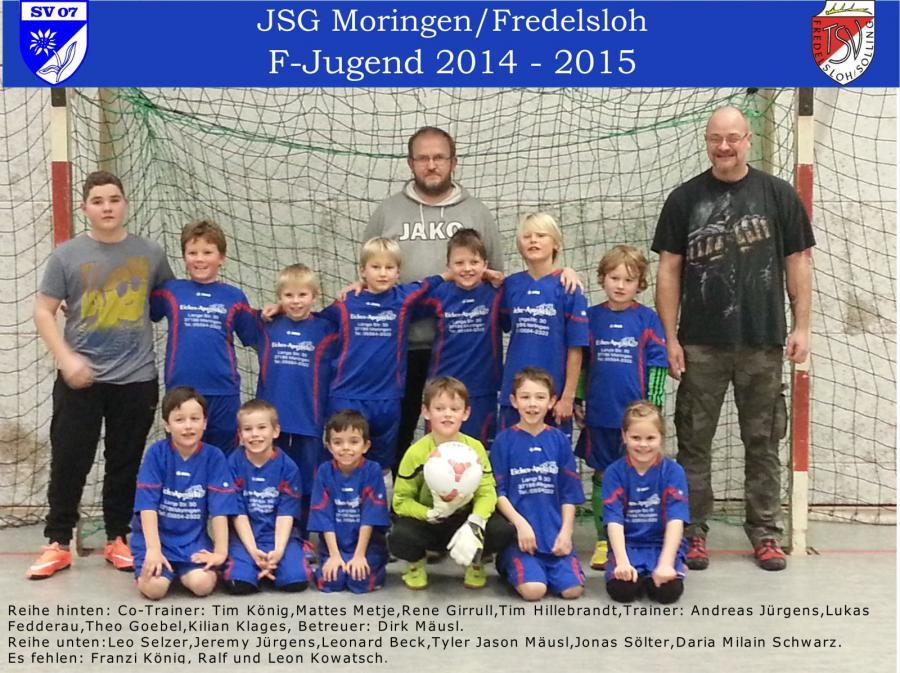 F-Jugend 2014 - 2015