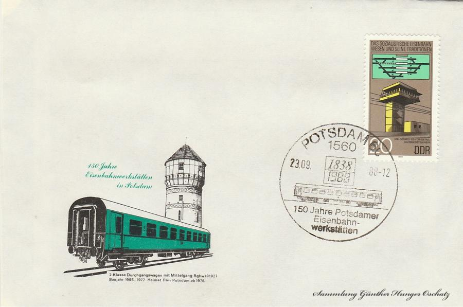 150 Jahre Eisenbahnwerkstätten in Potsdam
