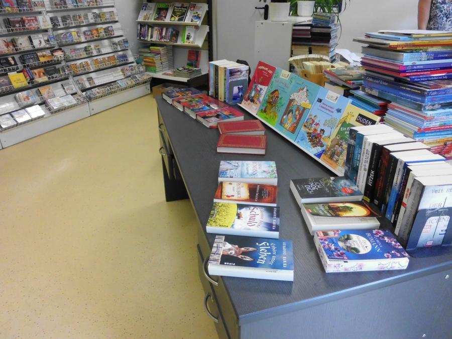Innenleben der Bibliothek