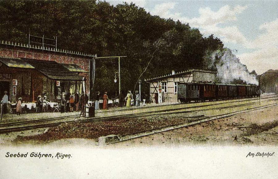 Seebad Göhren Rügen Am Bahnhof