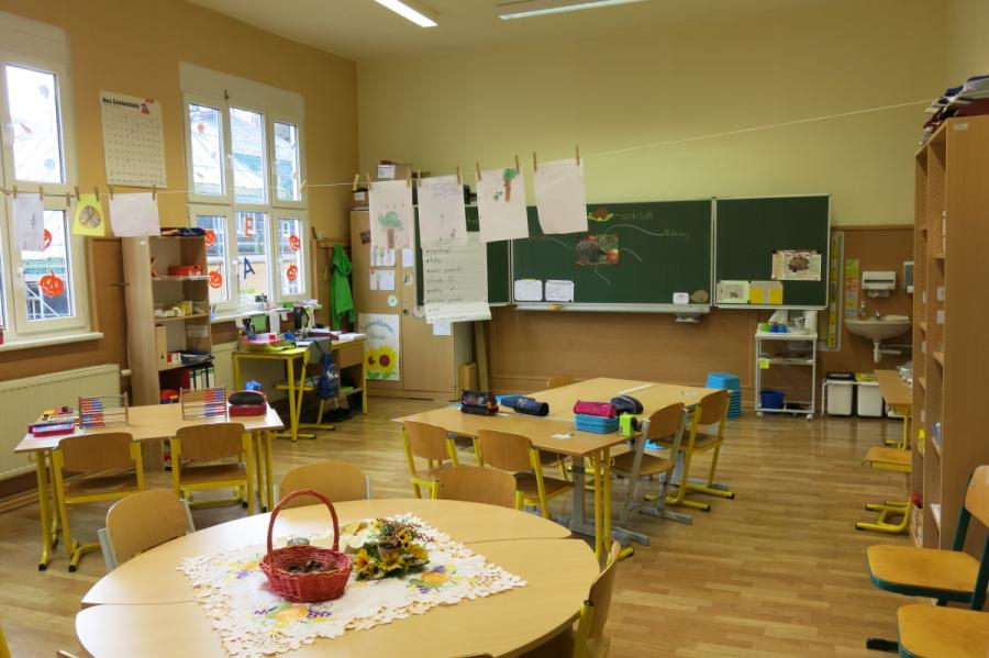 Klassenraum 1. + 2. Klasse