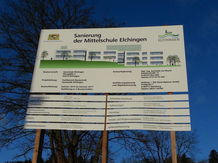 Mittelschule Elchingen - Kurzinfo: Mittelschule Elchingen