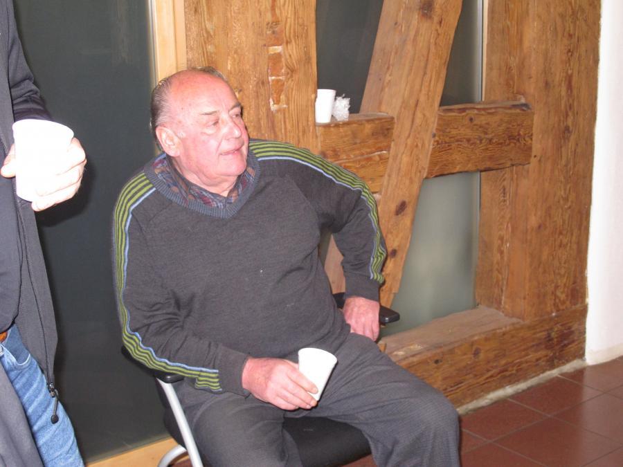 Ehrenpräsident Felix Pfitzer