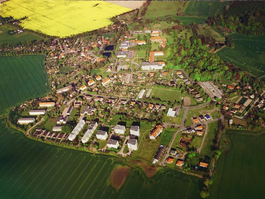 Luftbild der Gemeinde Karlsburg