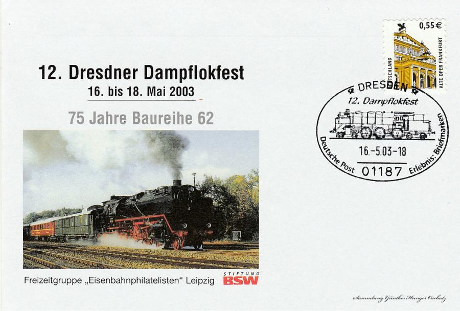 12. Dresdner Dampflokfest