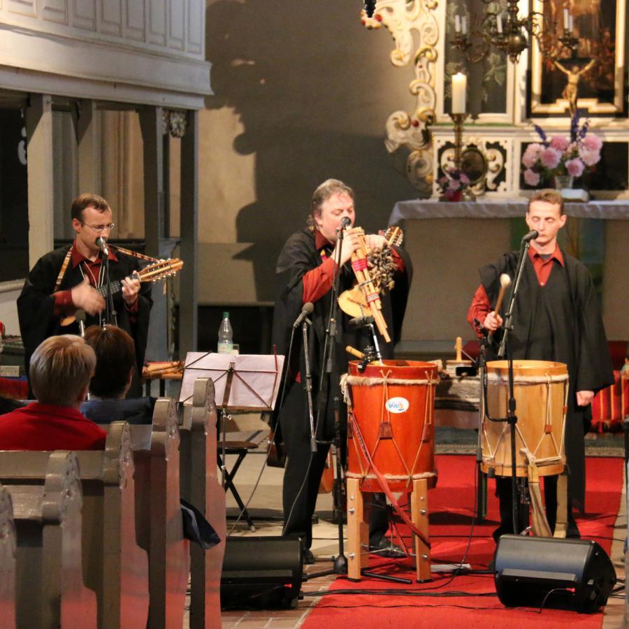 Konzert mit Cantaré in Kremmen am 14. Juni 2015