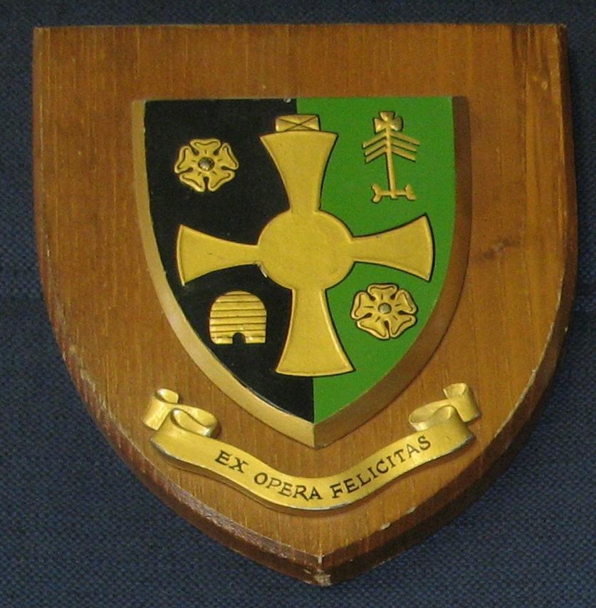 Wappen der Northallerton Grammar School
