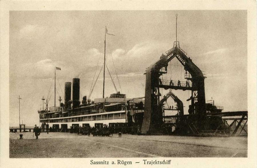 Sassnitz a. Rügen -Trajektschiff