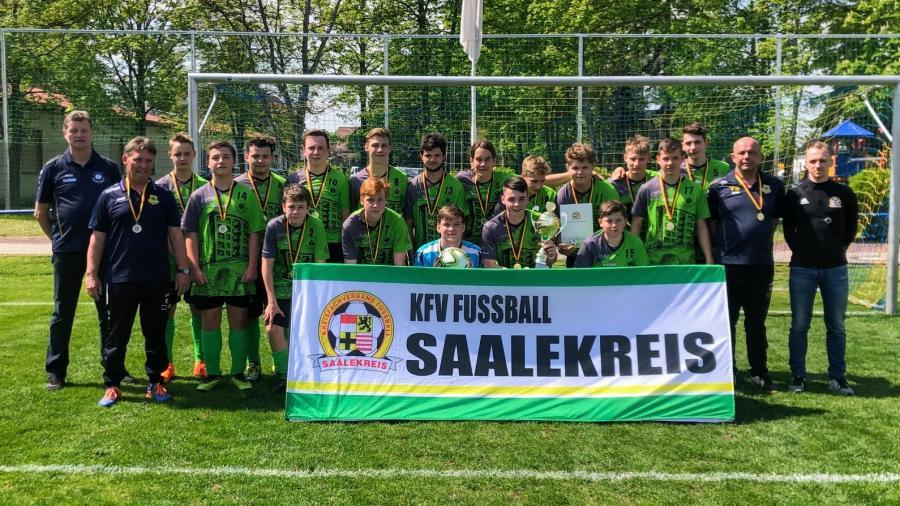 JSG Geiseltal // Kreispokalsieger B-Junioren 2018/2019