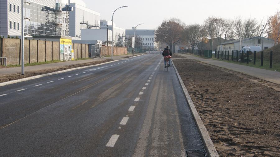 Lehnitzstraße – Radverkehr