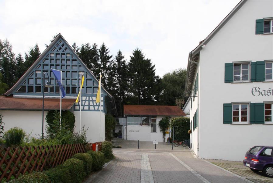 historisches Dorfzentrum Oberstadion