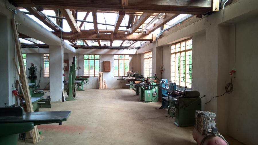 Blick in die neue Werkstatt