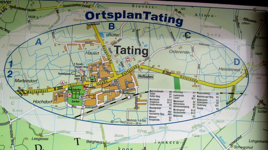 Ortsplan Tatng