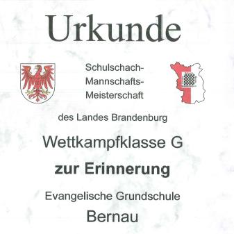 Schachturnier in Eberswalde
