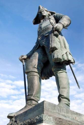Friedrich II. in  Letschin