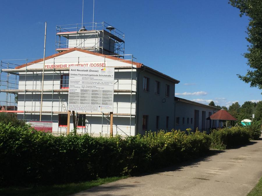 Neubau stand 09.2016