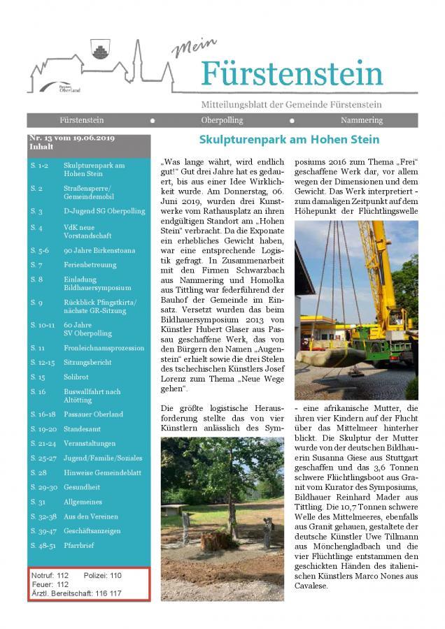 Gemeindeblatt nr. 13