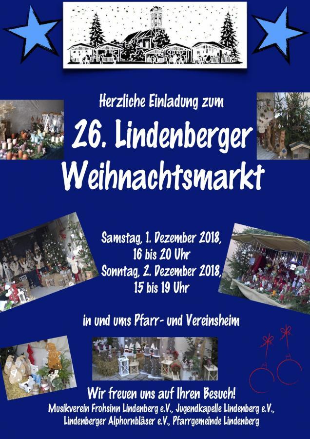 26. Lindenberger Weihnachtsmarkt
