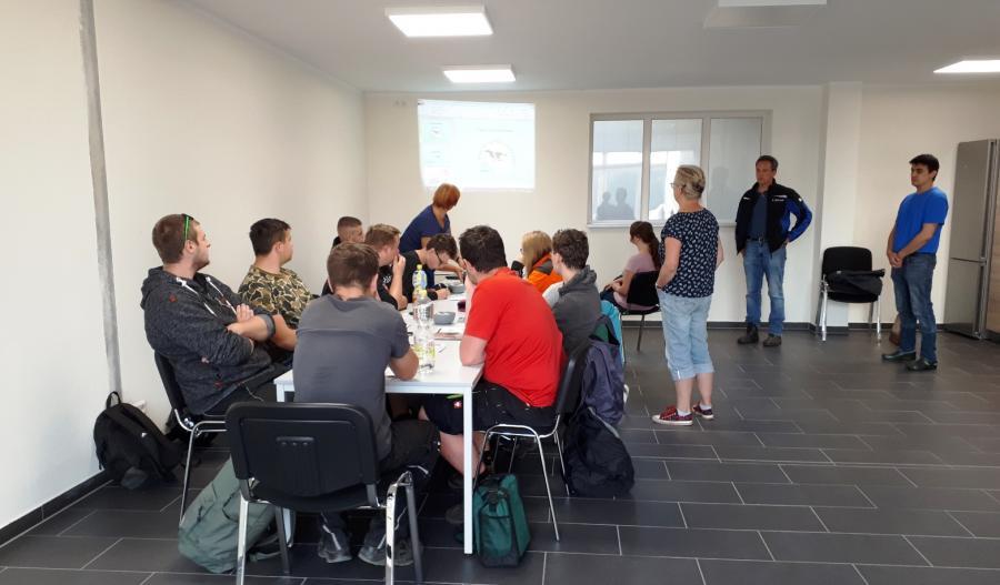 Moderner Aufenthalts- und Schulungsraum in Lübbinchen