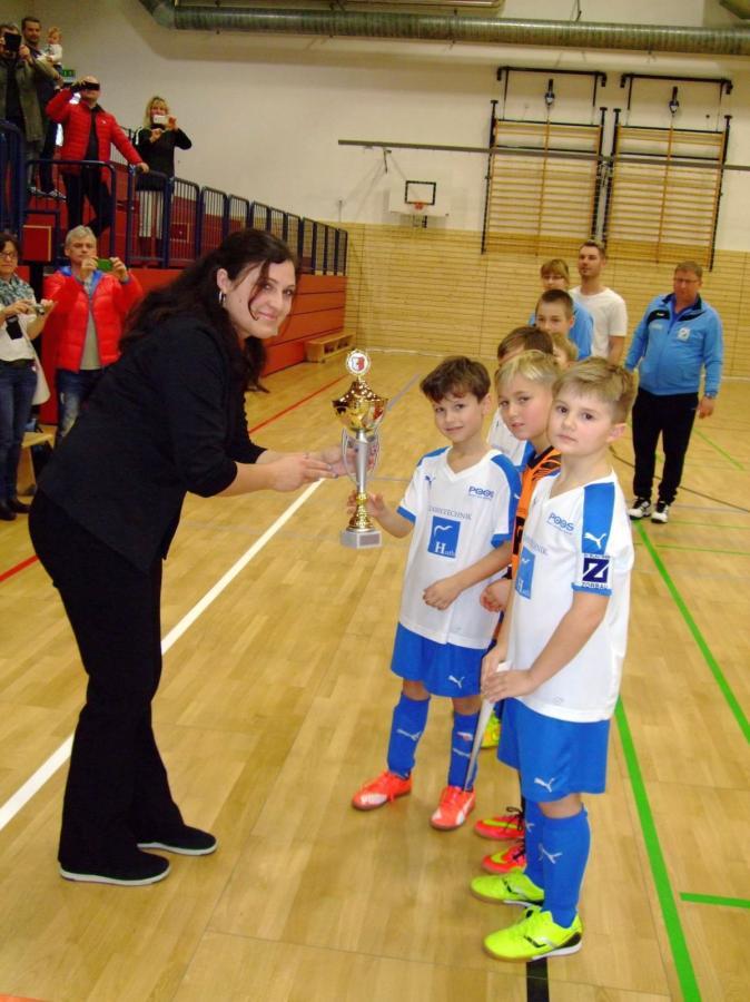 Auszeichnung HK-Meister F-Junioren