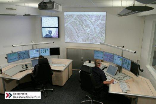 Kooperative Regionalleitstelle West in Elmshorn - Nachalarmierungsfunkraum