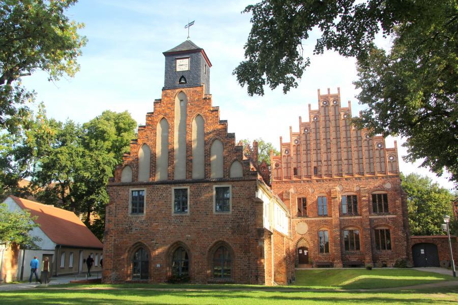 Kloster Zinna - das Abtshaus