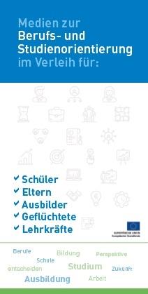Flyer zur Berufs- und Studienorientierung