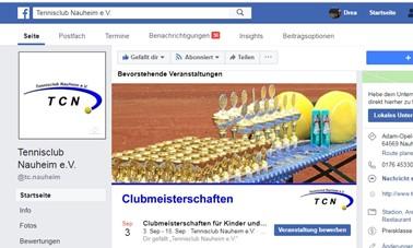 Facebook-Veranstaltungen