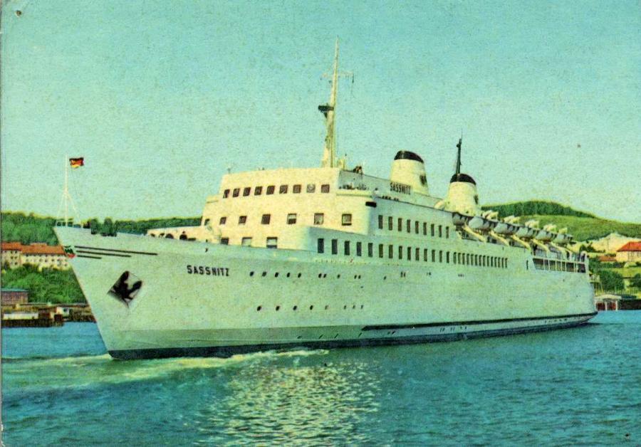 Fährschiff Saßnitz 1963