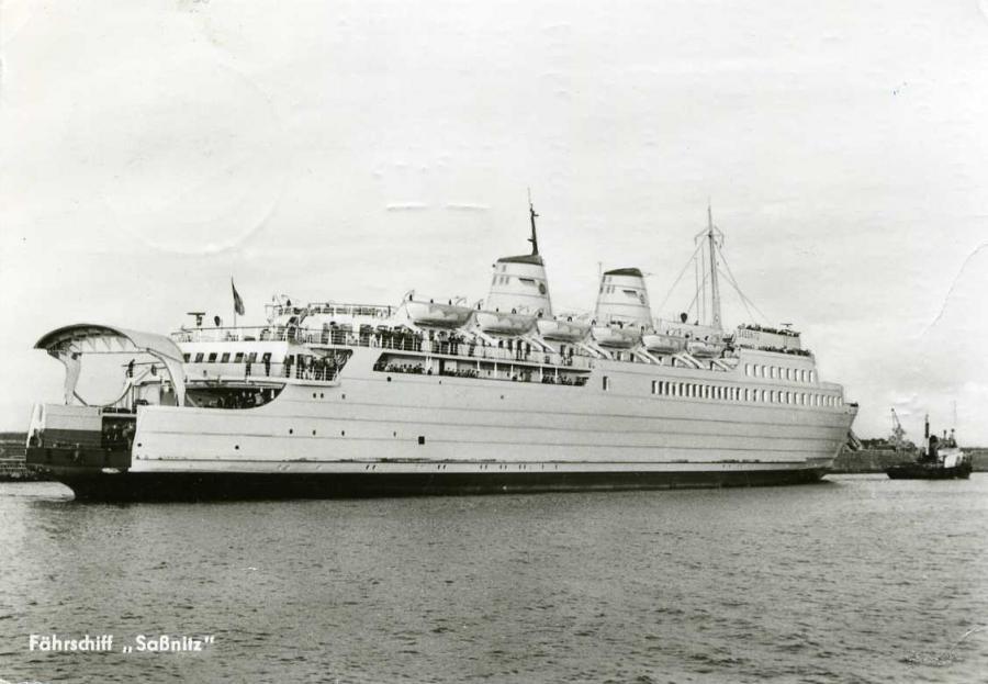 Fährschiff Saßnitz 1979