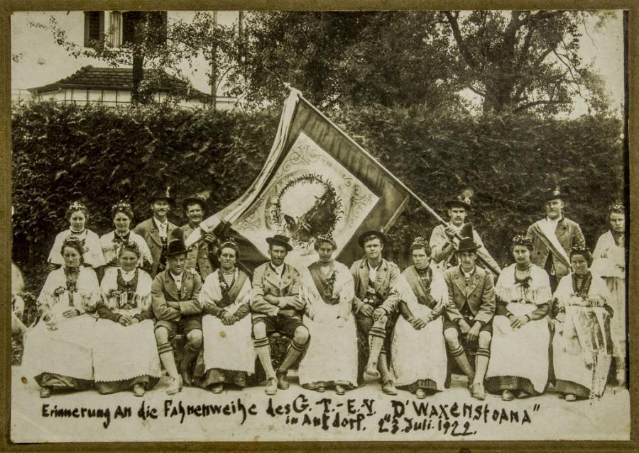 Fahnenweihe 1922