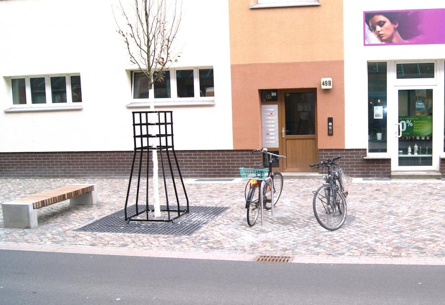 Mittelstraße – Fahrradbügel
