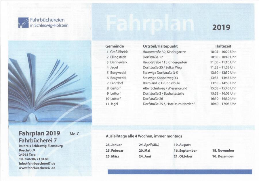 Fahrbücherei 2019