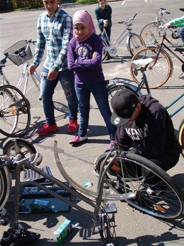 Fährräder/Schulkinder