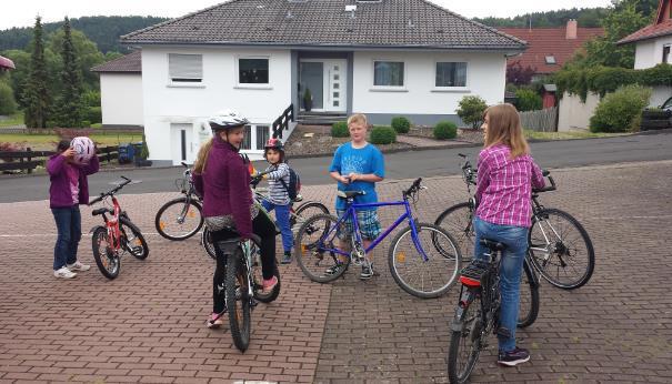Fahrradtour von Rohrbach nach Friedlos 1