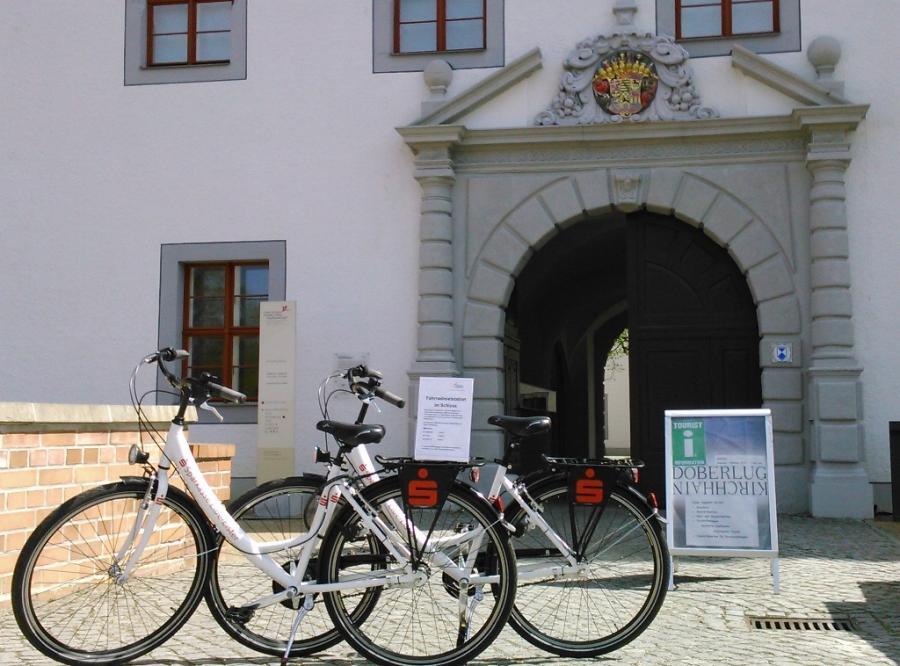 Fahrradmietstation Schloss