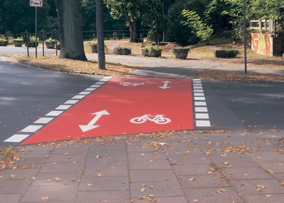 Fahrradwege in Oranienburg