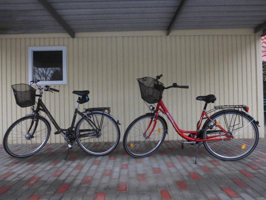 Fahrräder zur Ausleihe