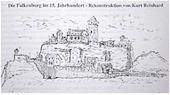 Falkenburg 15. Jhd. Rekonstruktion