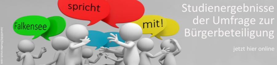 Studienergebnisse der Umfrage zur Bürgerbeteiligung