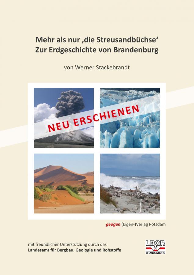 """Buch """"Mehr als eine Streusandbüchse - Zur Erdgeschichte von Brandenburg"""