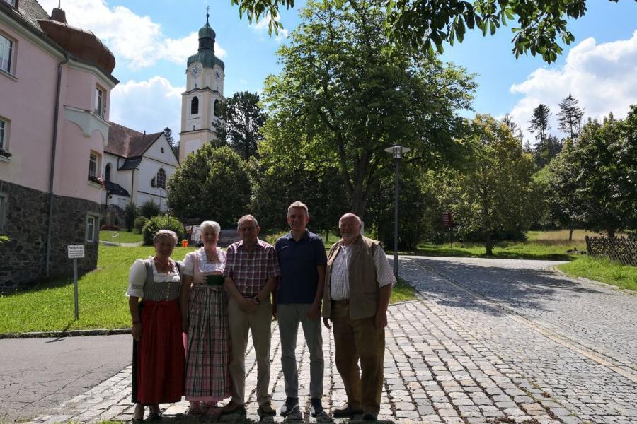 Gästeehrung Familie Bayer